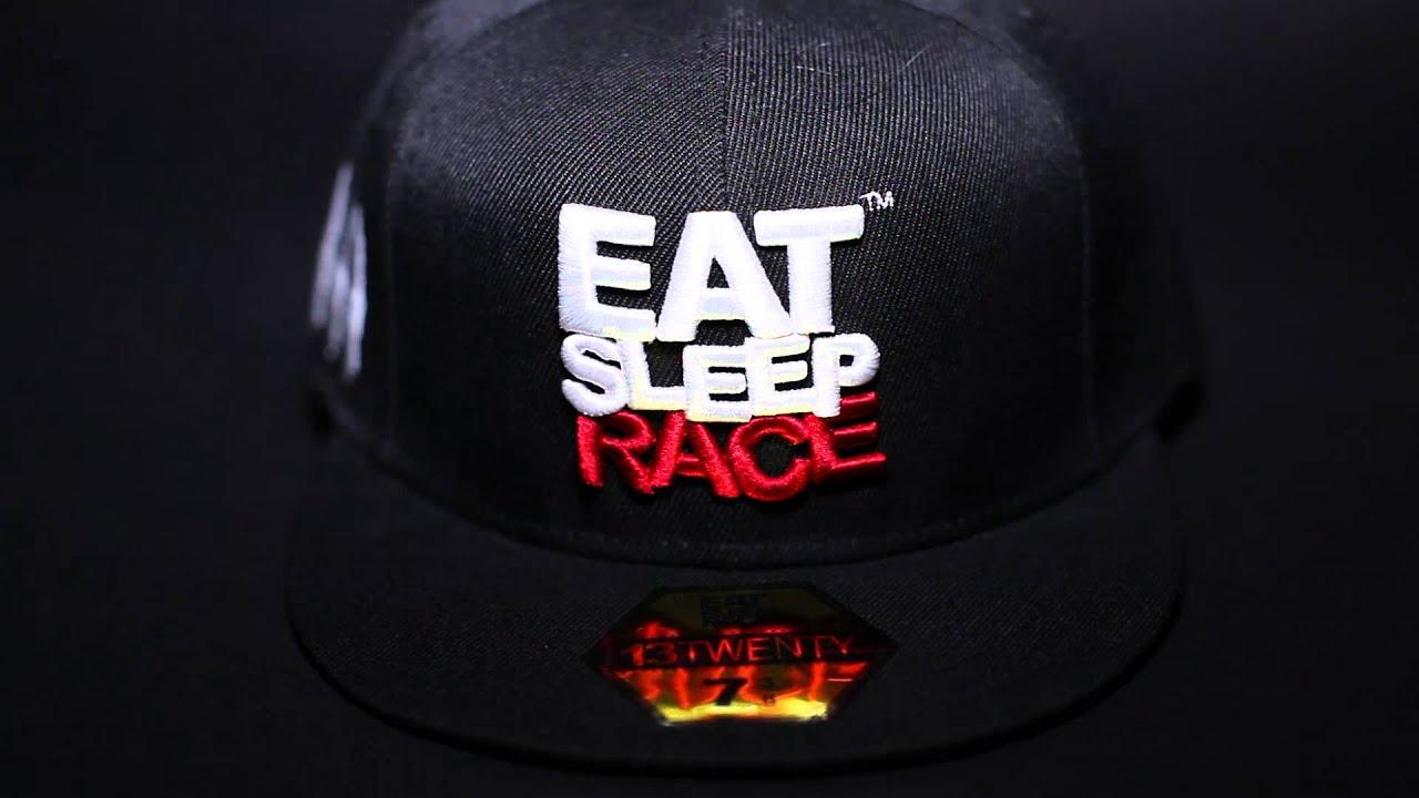Eat Sleep Race Apparel ESR Fitted Hat