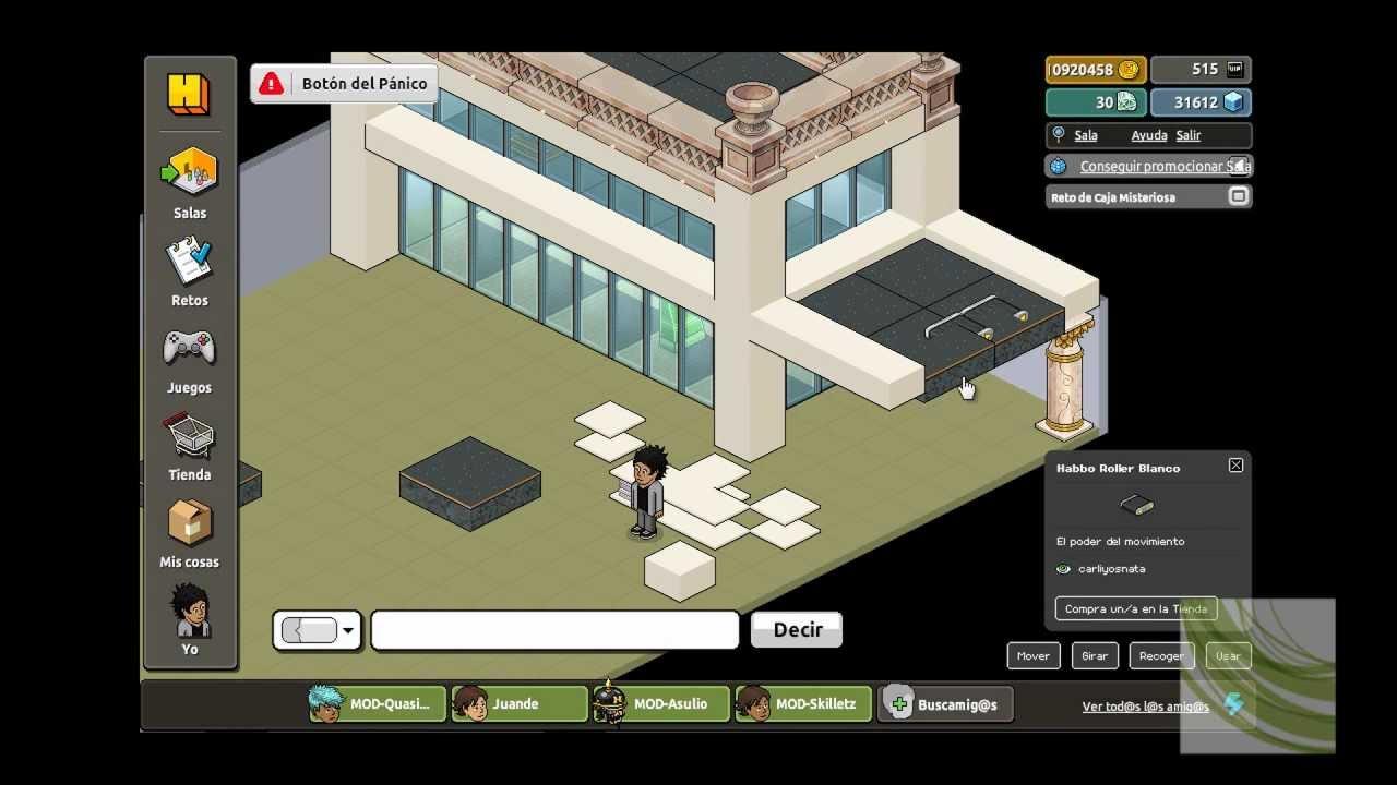 Habbia como construir el exterior de una casa youtube for Casa moderna habbo