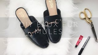 f11e85af502a v2Movie   BEST GUCCI DUPE  Tony Bianco Vienna Mules Review