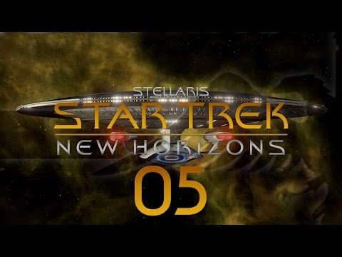 Stellaris Star Trek #05 STAR TREK NEW HORIZONS MOD - Gameplay / Let's Play