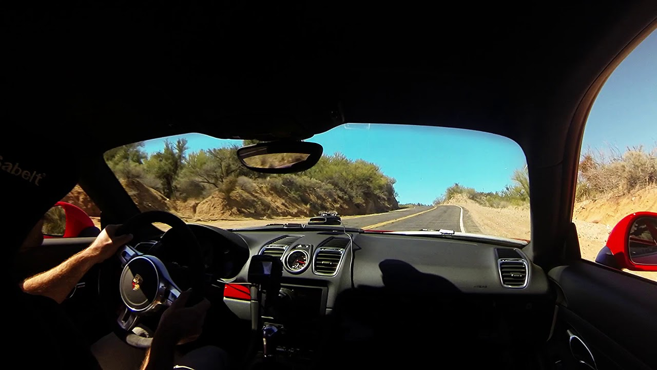 Catching Air in a Porsche on Backroads