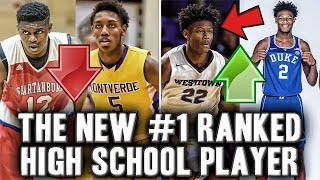 The New #1 High School Player In The Country   Jumped Over Zion Williamson and R.J. Barrett?