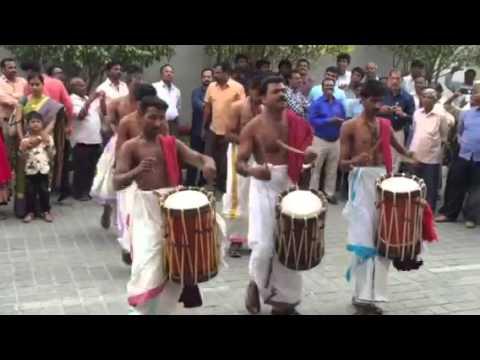 Vadyam playing at Coimbatore