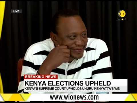 Kenya's SC upholds Uhuru Kenyatta's electoral victory