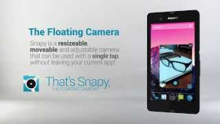 Snapy, The Floating Camera