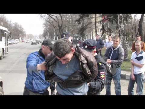Горожане задержали потрошителя в центре Новокузнецка