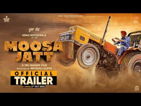 MOOSA JATT (Official Trailer) Sidhu Moose Wala | Sweetaj Brar | Tru Makers | Releasing 1st October