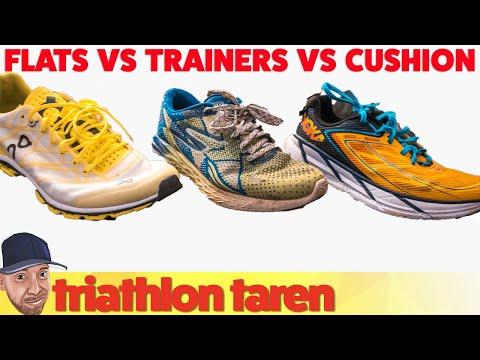 Running Trainers vs Racing Flats v