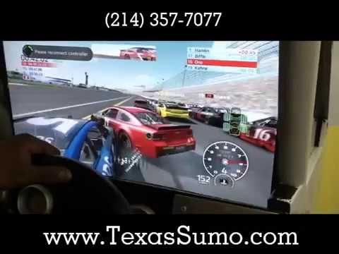 NASCAR Simulator. Available for Party Rental - Dallas, TX