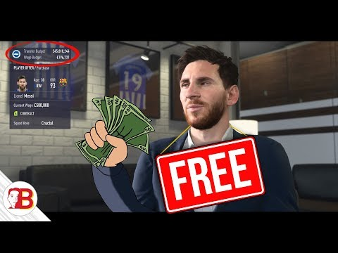 HOW TO SIGN MESSI ON FREE TRANSFER IN FIFA 18 CAREER MODE! (PRETTY MUCH A FREE MONEY GLITCH)