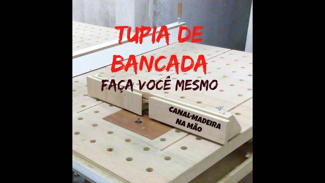 TUPIA DE BANCADA FAÇA VOCÊ MESMO 2° PARTE SÉRIE DE VIDEOS AULA 13  #C40E07 1329x1345