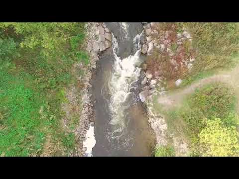 Bear River whitewater in Petoskey Michigan