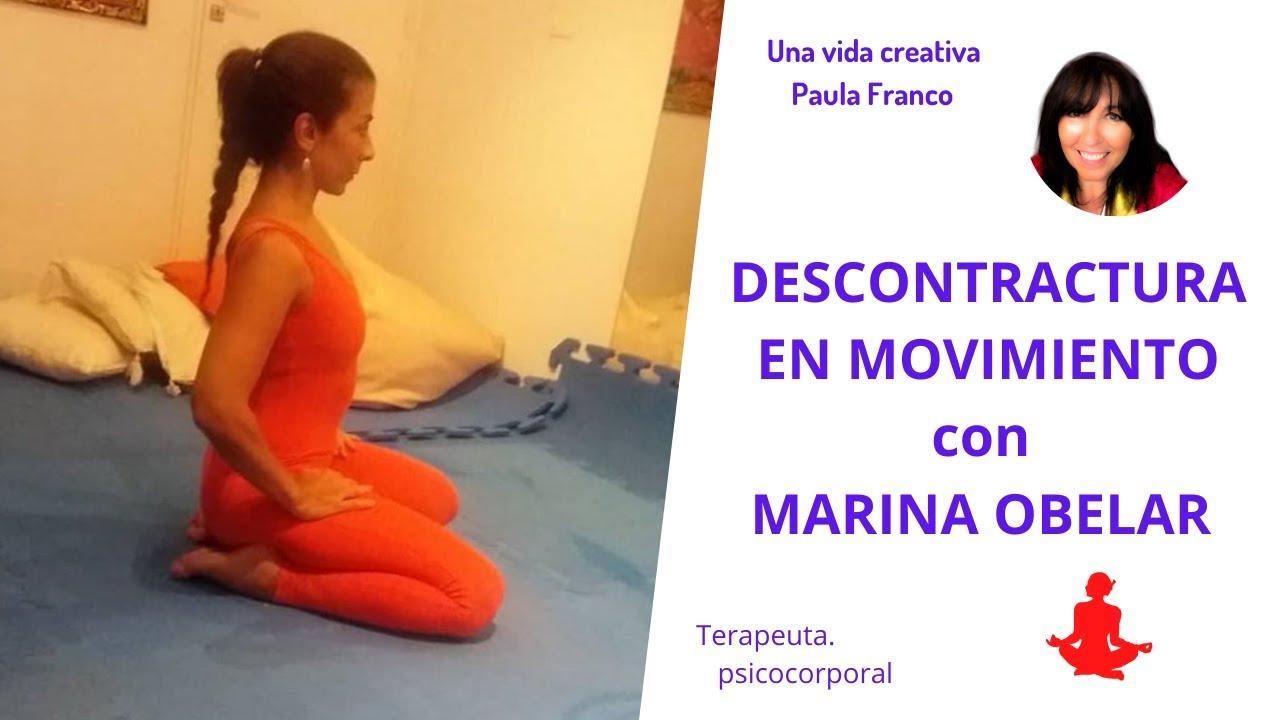 Cómo mejorar la posición del Cuerpo cuando estas mucho tiempo sentada? Gym con Marina Obelar