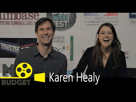 Karen Healy of Pondering Media at the Dublin Web Fest