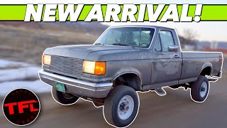 A Funny Thing Happened: Someone Gave Us This Classic Diesel Truck And Here's Why!