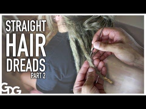 Maintenence On Straight Hair Dreadlocks