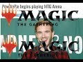 Why PewDiePie is Disliked by Magic the Gathering Players @ MTG Arena