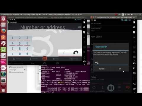 Asterisk Server Demo