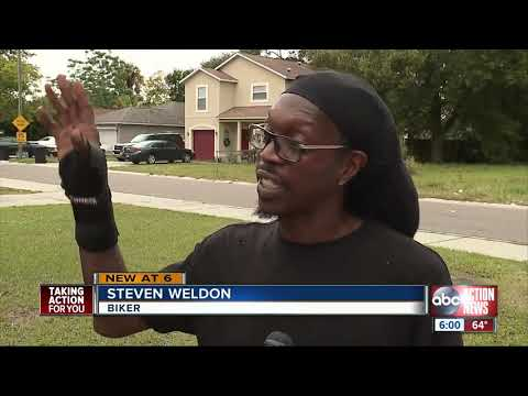 Mychal Maguire - Bicyclist Recovering From Hit-And-Run In St. Pete