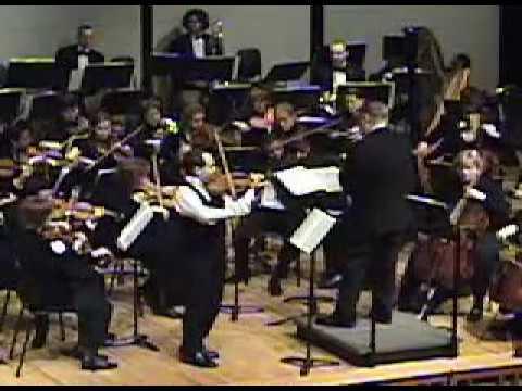 Leonid Sushansky plays Kabalevsky Violin Concerto - 1st