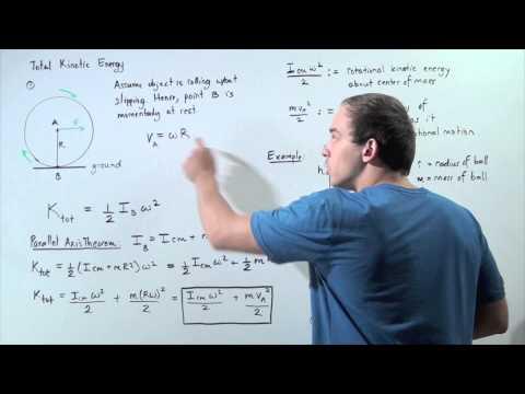 Total Kinetic Energy (Translational and Rotational)