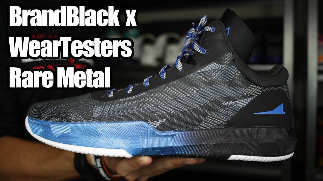 265179471ef9 BrandBlack x WearTesters Rare Metal W  On Foot - YouTube