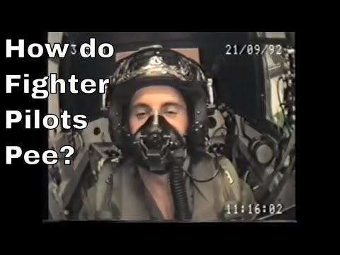 How Do Fighter Pilots Pee Youtube