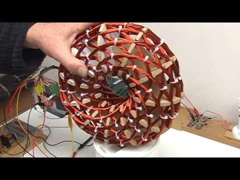 Vortex Tech Replication. Magnetic Field, by netica. Video 2
