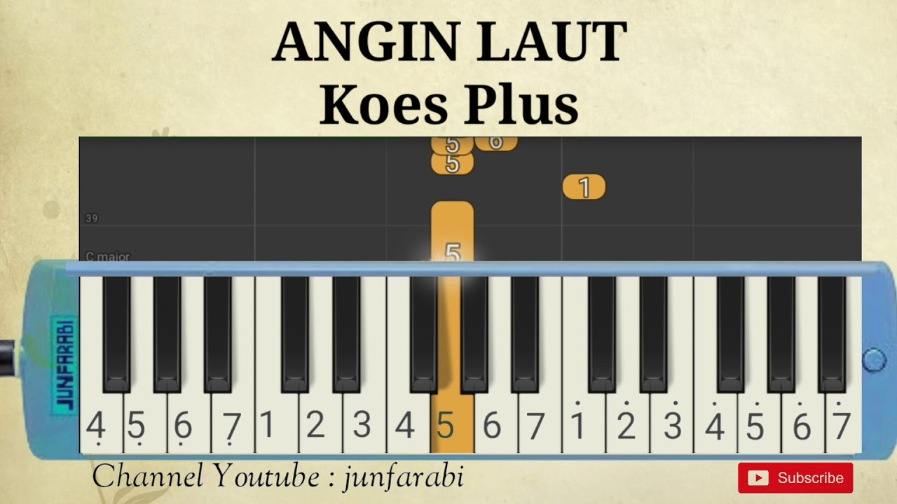 pianika lagu angin laut koes youtube