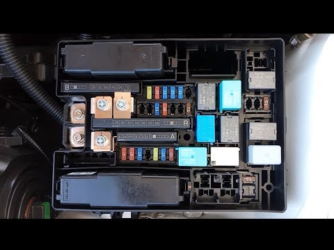2017 Honda CR-V Fuse Box - YouTubeYouTube