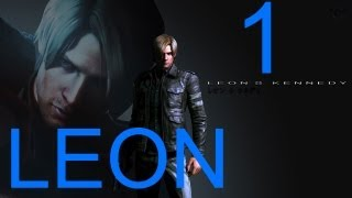Resident Evil 6 walkthrough - part 1 HD Leon walkthrough RE6 Full Game gameplay Campaign