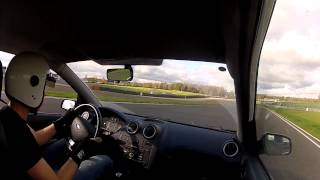 one lap on moscow raceway having fun with fwd car