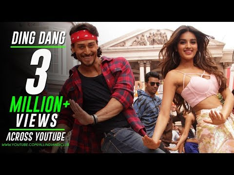 Ding Dang - Remix | Munna Michael 2017 | Deejay Harsh Allahbadi | Tiger Shroff & Nidhhi Agerwal