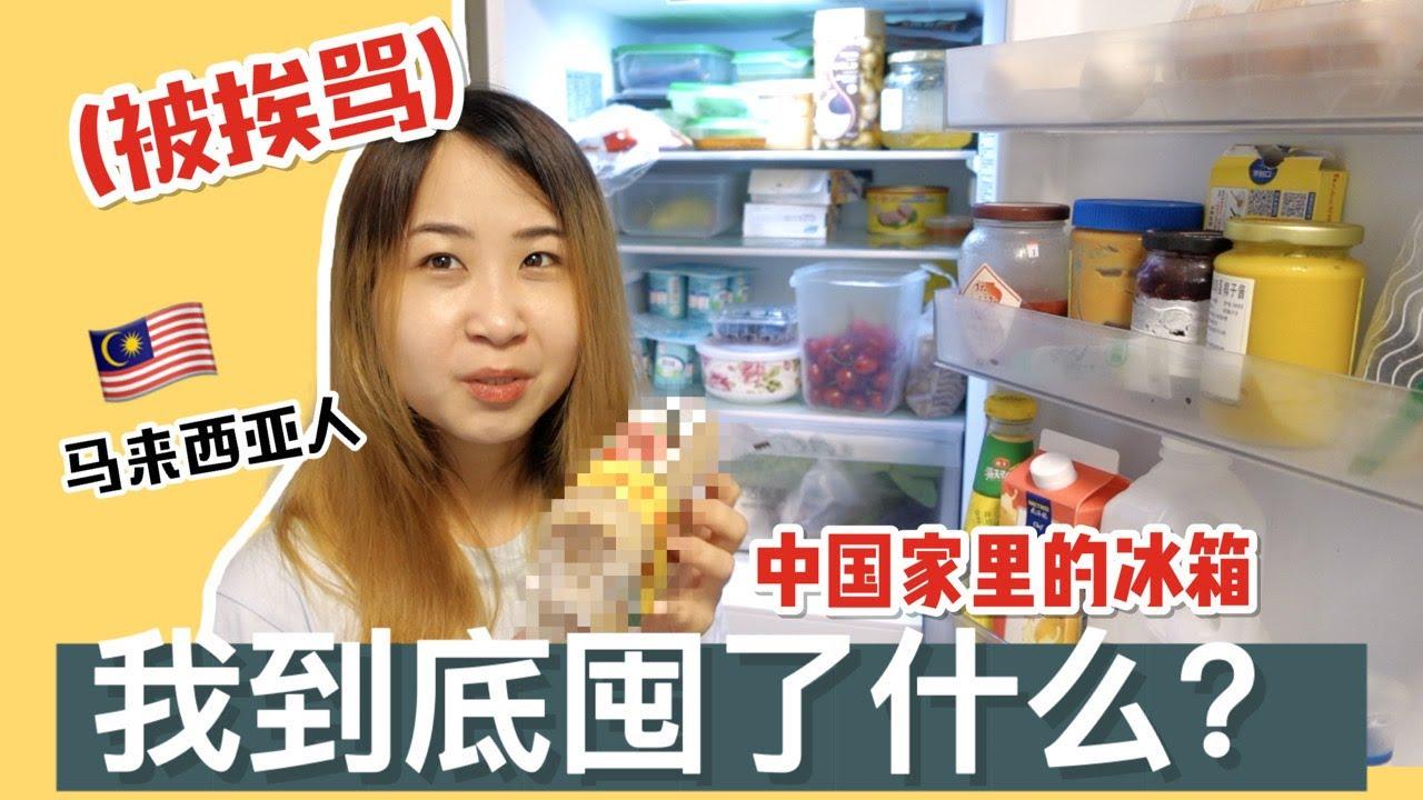马来西亚人在中国家里的冰箱到底囤了什么?居然被念了。。。