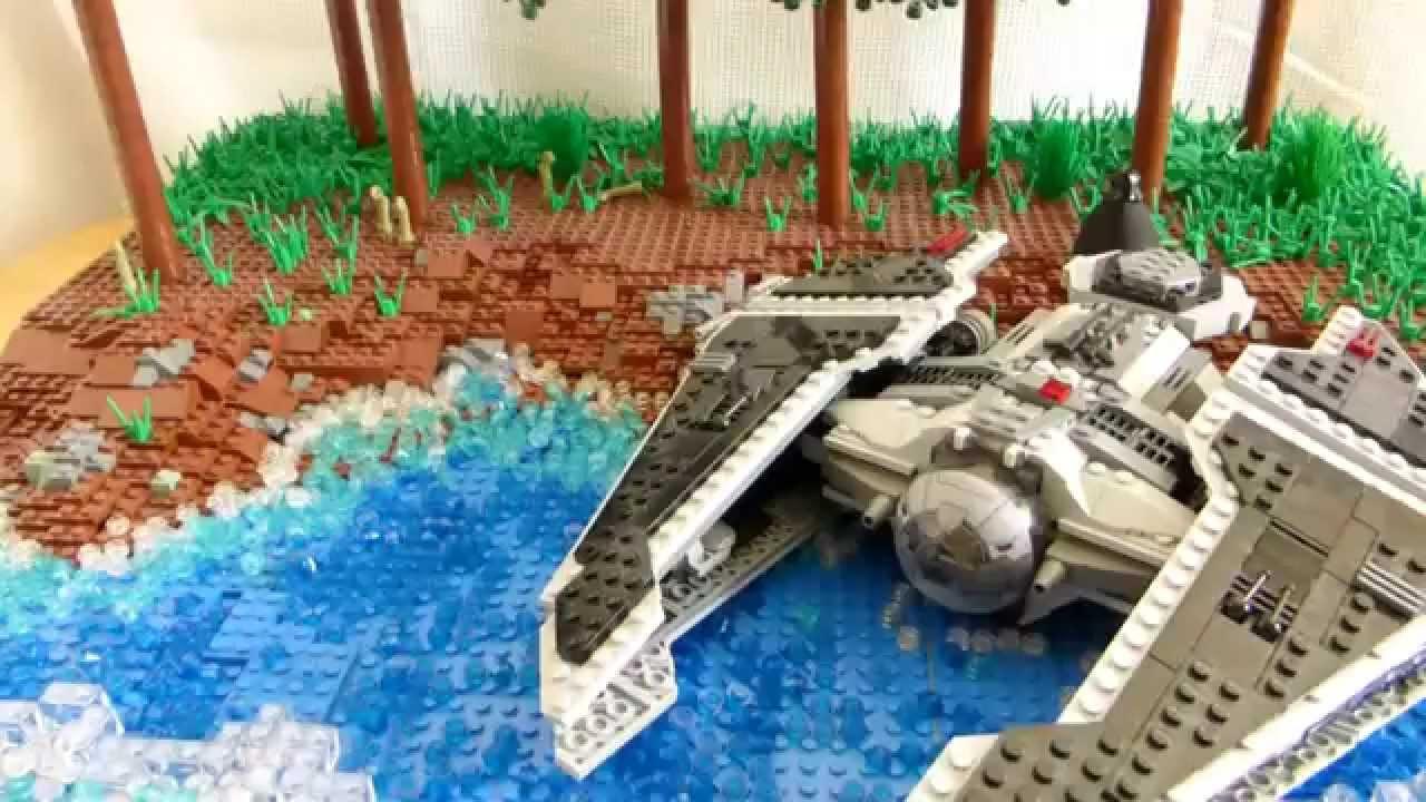 レゴ スターウォーズ ジオラマ レヴァンの訪れ lego star wars moc revan`s visitting