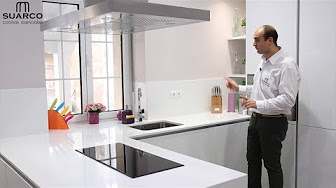 Video cocinas modernas blancas sin tiradores aka videos for Cocinas pequenas blancas modernas