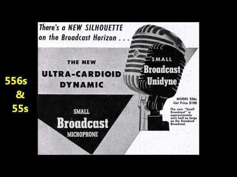 SHURE 55 Series Microphone History