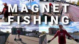 Magnet Fishing In Stockholm By Magnet Man Sweden