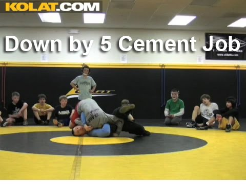 Wrestling Moves KOLAT.COM Down By 5 Cement Job