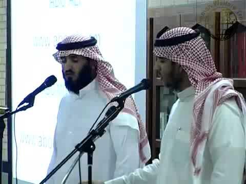 Abu Ali & Abu Muhannad Beatiful live Nasheed! MashAllah!