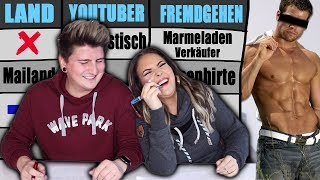 STADT-LAND-YOUTUBER-WAS??? Extrem 🤣 feat. Luuktastisch | Jennys strange World