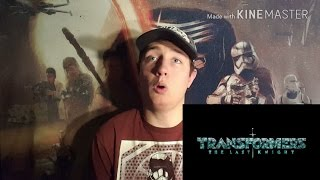 Transformers: The Last Knight TV Spot #3 Reaction