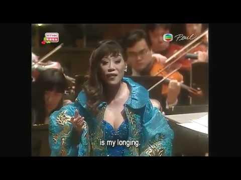Sumi Jo sings