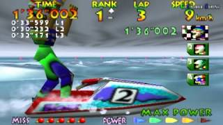 Wave Race 64 - Championship Mode (Normal) - R. Hayami