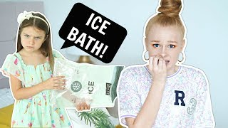 I ONLY said YES to my little sister for 24 HOURS CHALLENGE! 😱