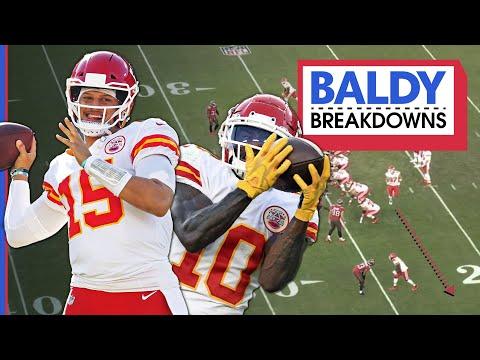 How Patrick Mahomes & Tyreek Hill Make Football Too Easy   Baldy Breakdowns