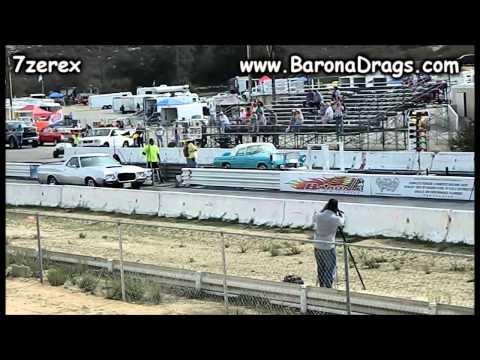 Ford Ranchero Drag Racing Barona Drag Strip 2-15-2014