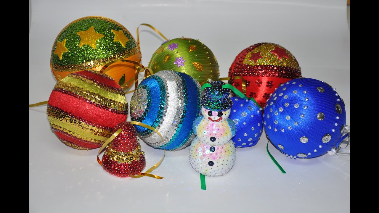 how to make christmas ball ornament ideas diy - Christmas Ball Decoration Ideas