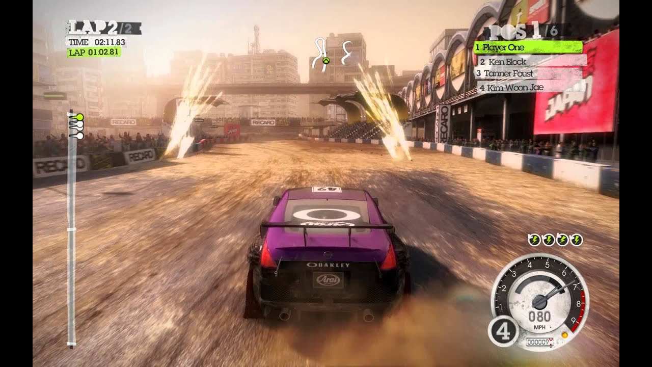 Dirt 2 Gameplay With Thrustmaster T80 Wheel PC Gameplay HD