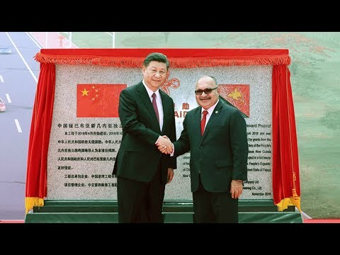 President Xi attends Independence Boulevard handover ceremony in Papua New Guinea